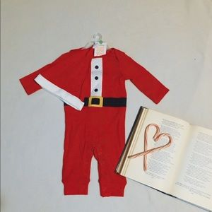 Carter's}• baby Santa outfit with hat